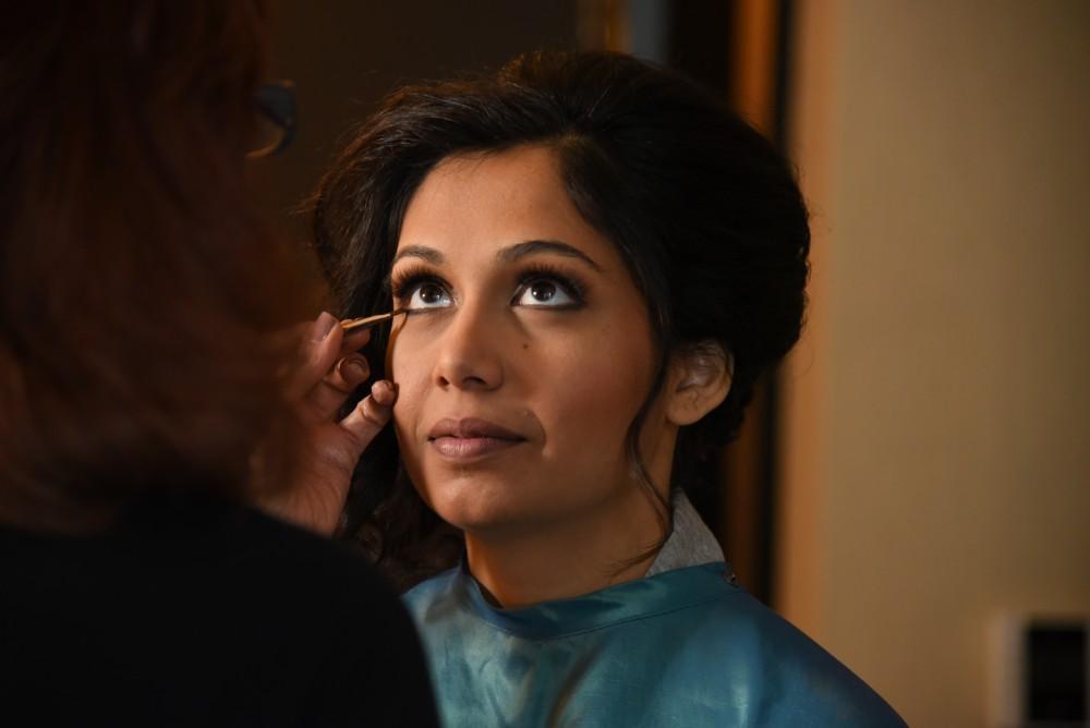 bindu ed thewhit bride getting ready