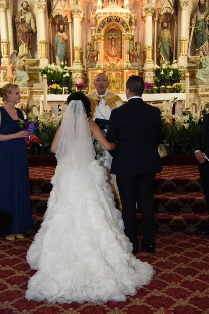 bindu ed thewhit wedding ceremony