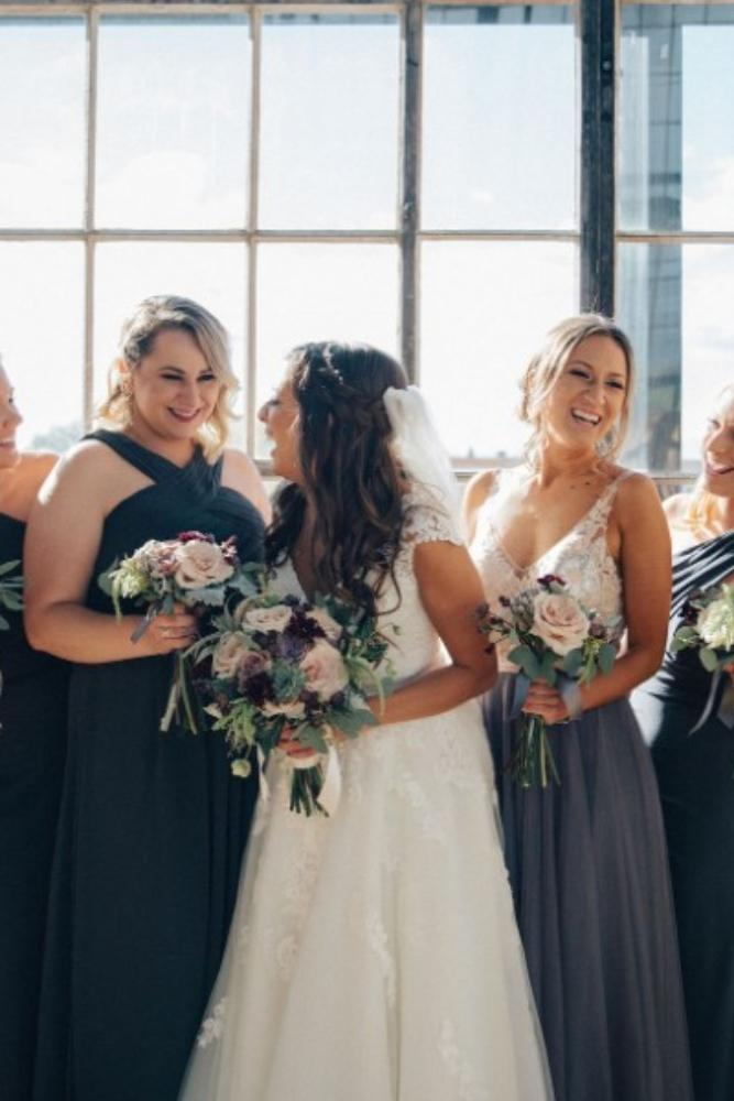brittany greg ravenswood event center bridesmaids