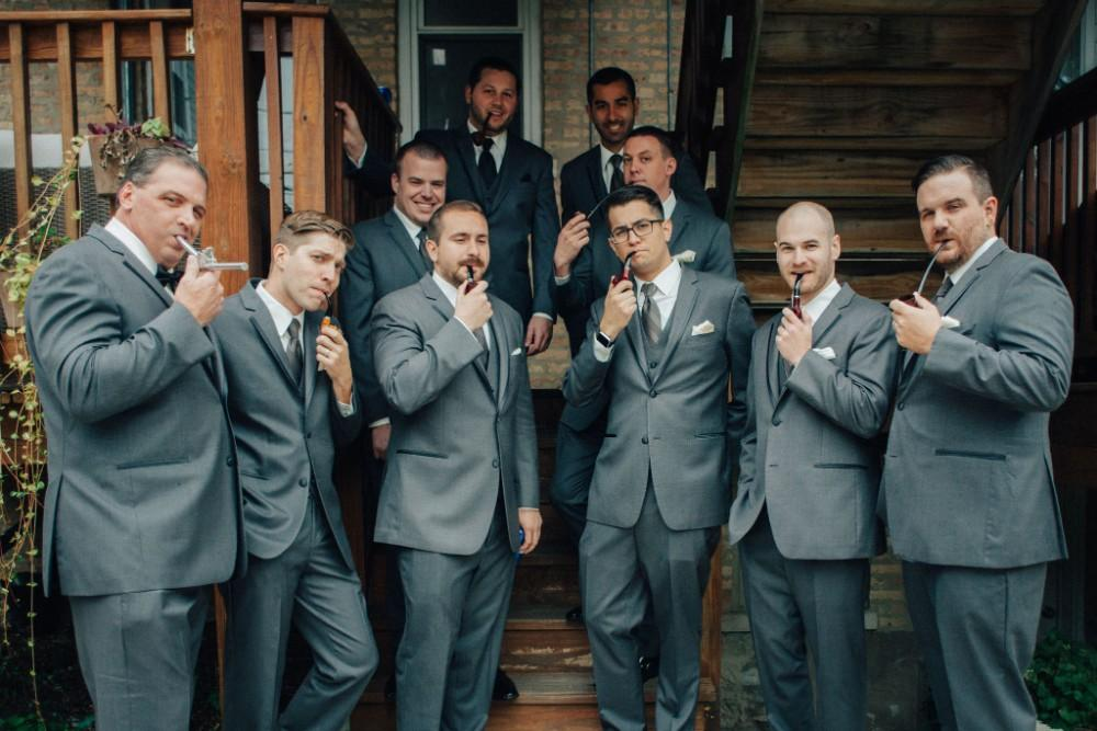 brittany greg ravenswood event center groomsmen