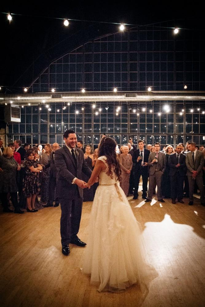 brittany greg ravenswood event center first dance
