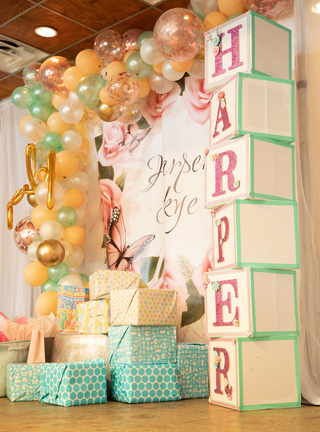Elegant Blush Gold Baby Shower The Celebration Society