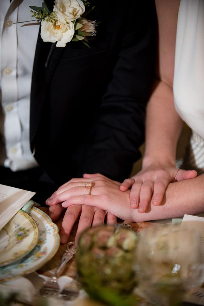 styled shoot vintage tuscany wedding rings