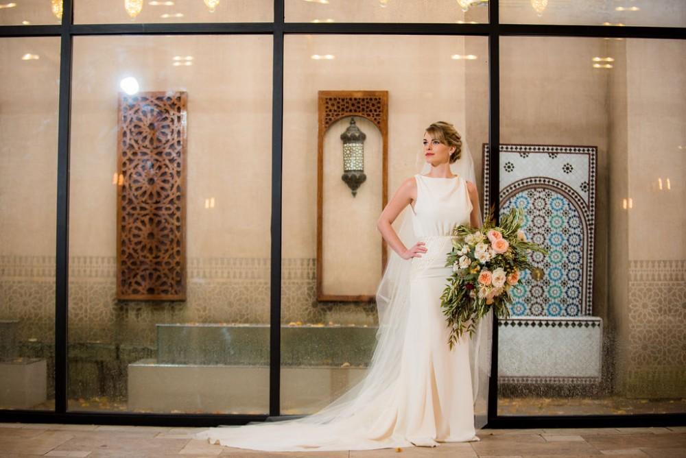 styled shoot vintage tuscany bride