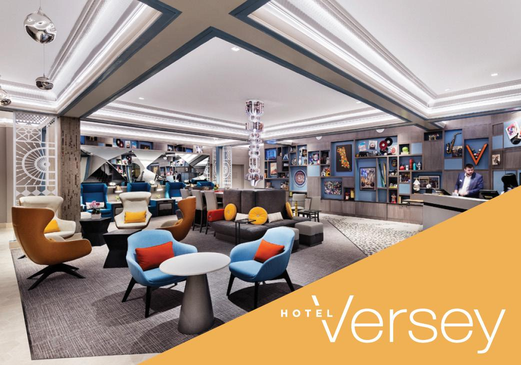 Hotel Versey in Chicago, Illinois | Hotel Room Block | Wedding Guest Accommodations | Wedding Venue