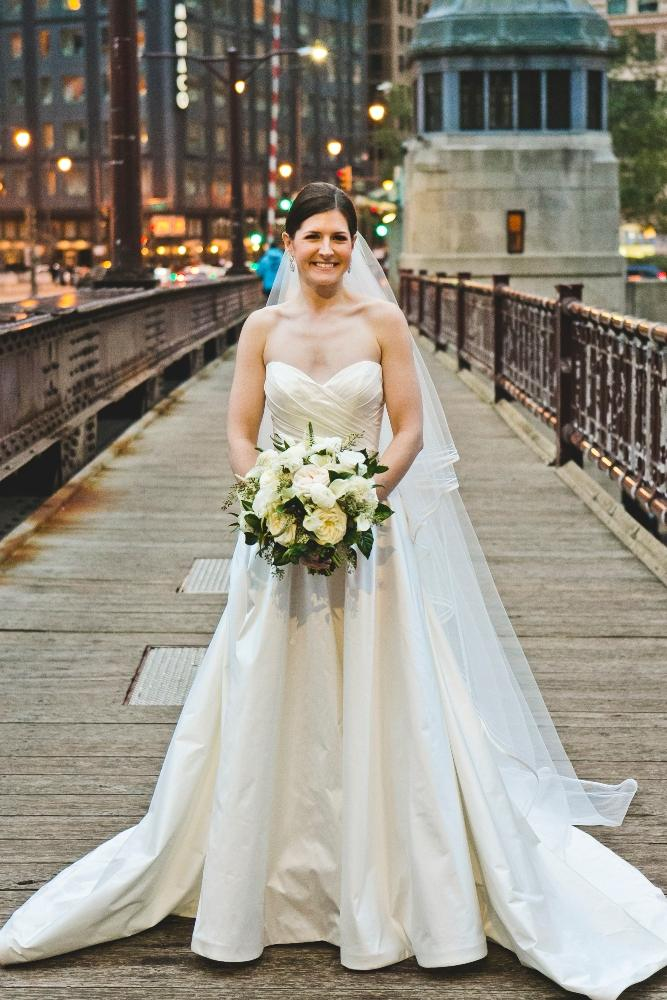 annie mike the langham chicago bride