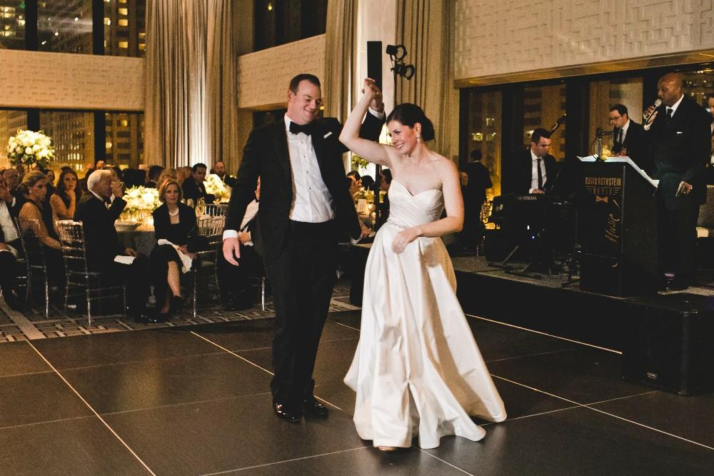annie mike the langham chicago first dance