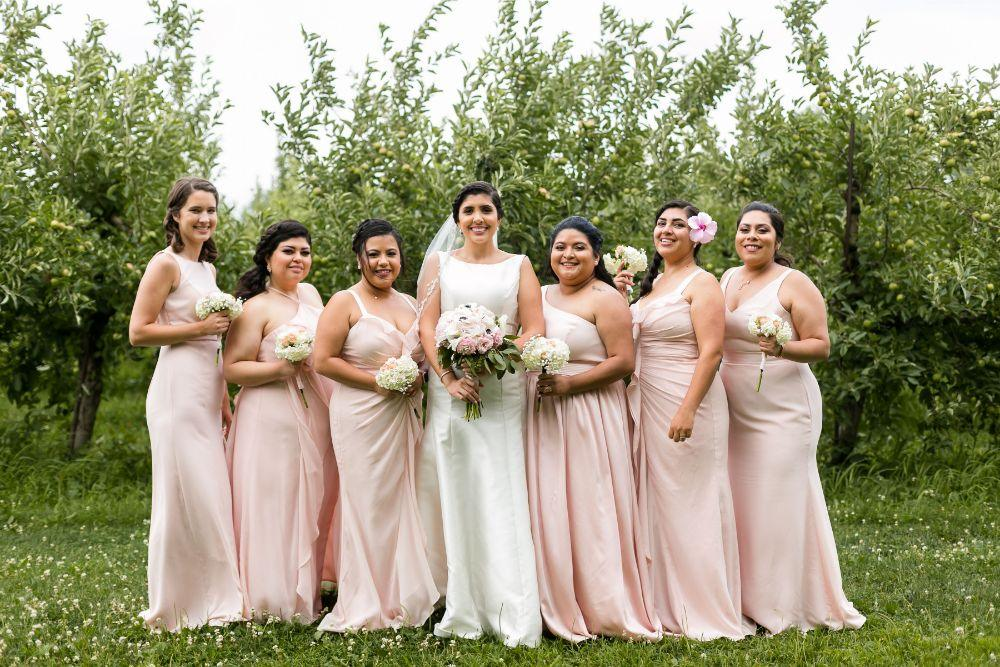 daisy warren county line orchard bridesmaids