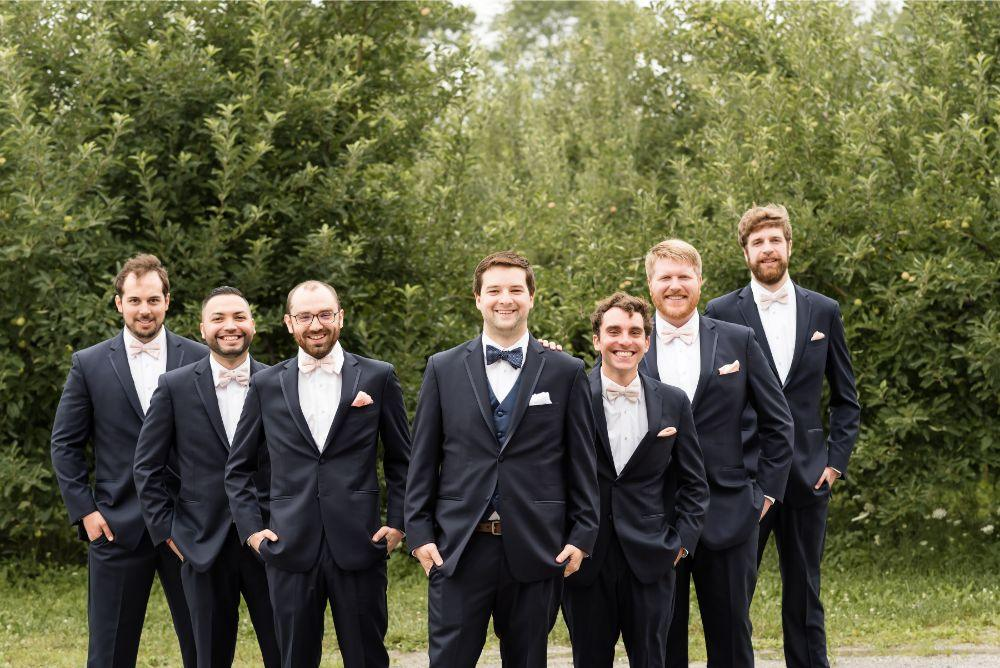 daisy warren county line orchard groomsmen