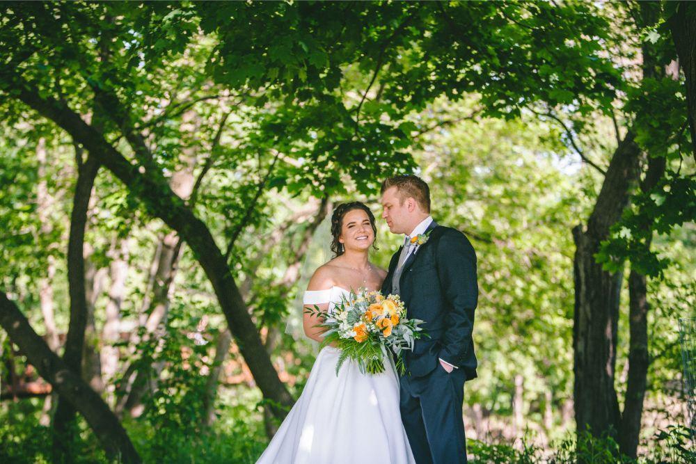 jessica john dinolfos banquets bride and groom