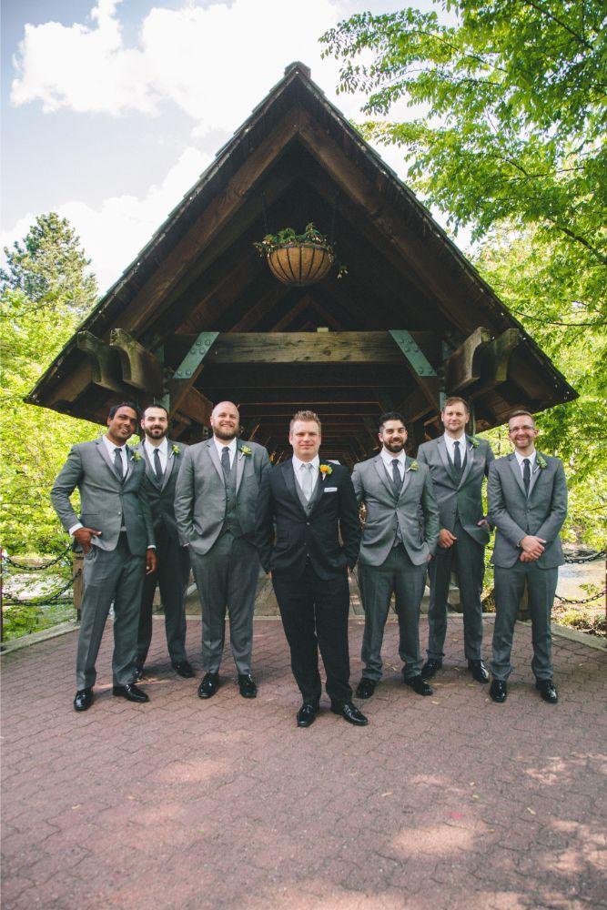 jessica john dinolfos banquets groomsmen