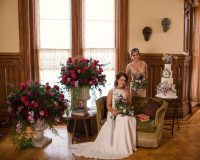 english rose styled shoot