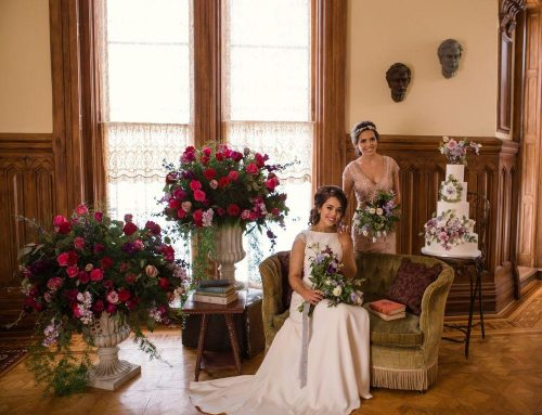 Vintage English Abbey Wedding Inspiration at Dole Mansion