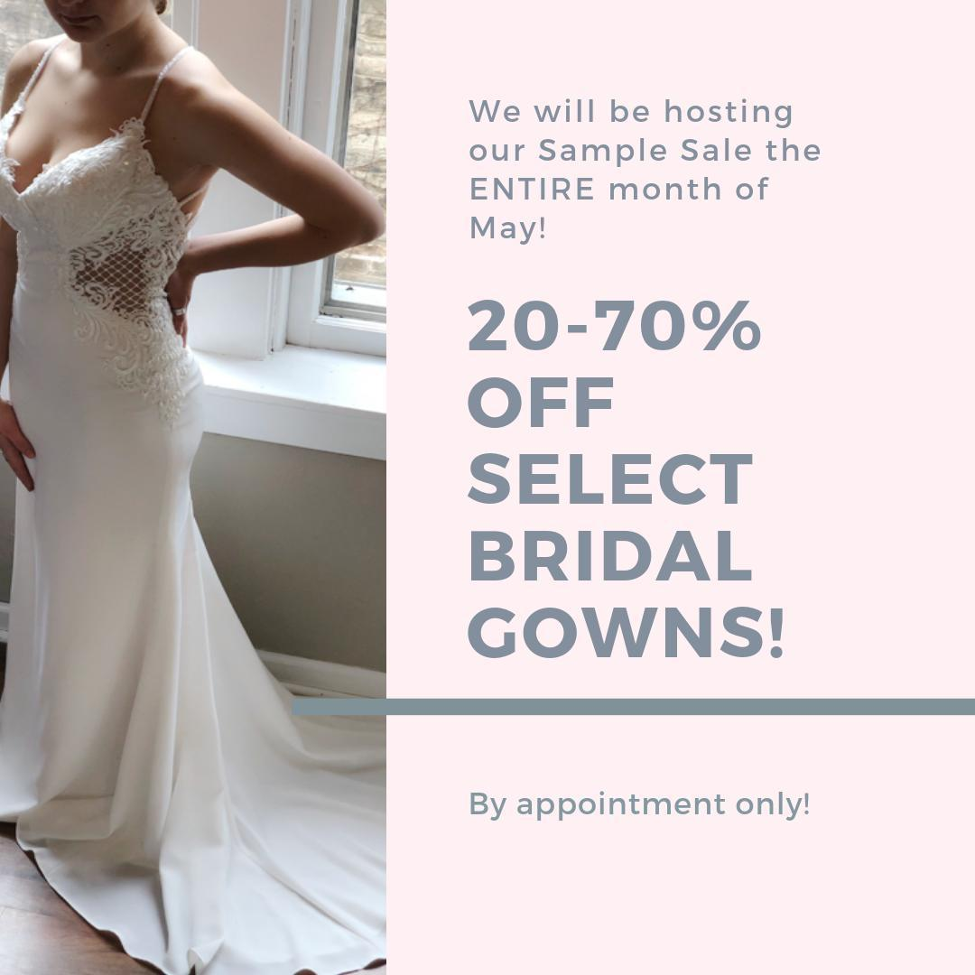 All About the Gown by Judy - Sample Sale - Wedding Gowns - May 2019