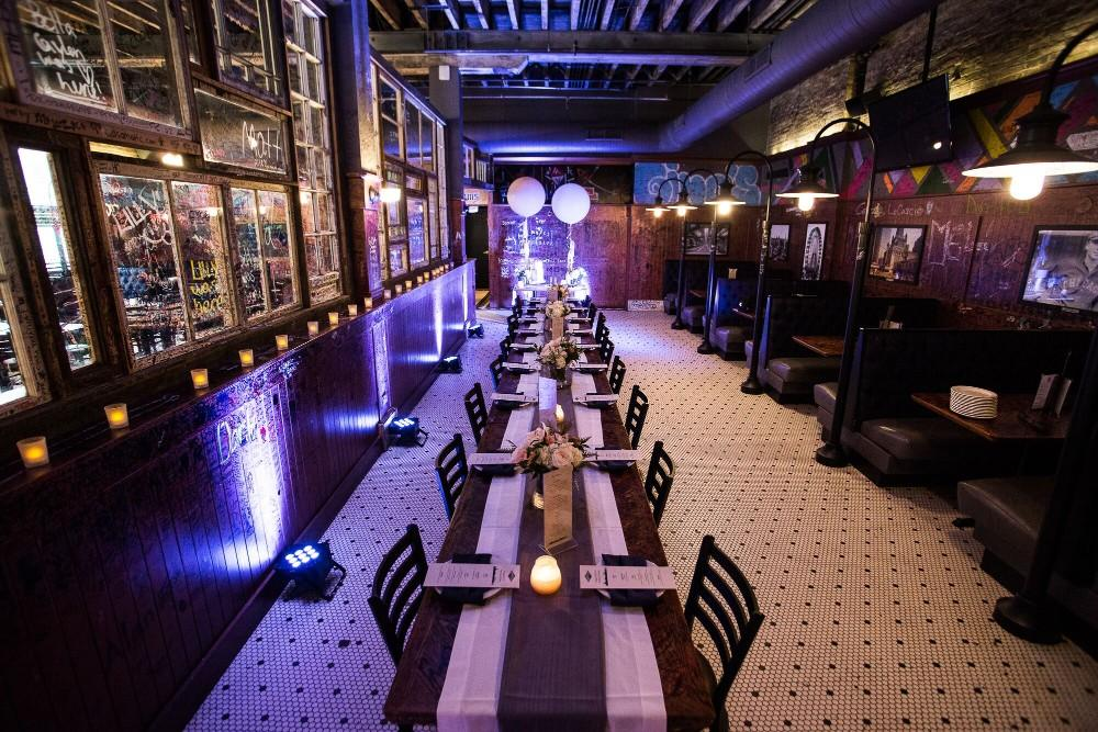 Gino's East River North | Wedding Rehearsal Dinner | Engagement Party | Chicago, Illinois