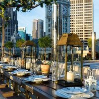 Terrace 16 | Trump Chicago Hotel | Wedding Venue | Event Venue | Chicago Wedding
