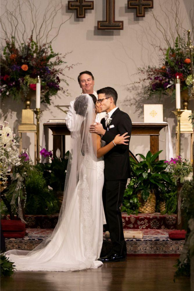 andrea matthew cotillion banquets first kiss