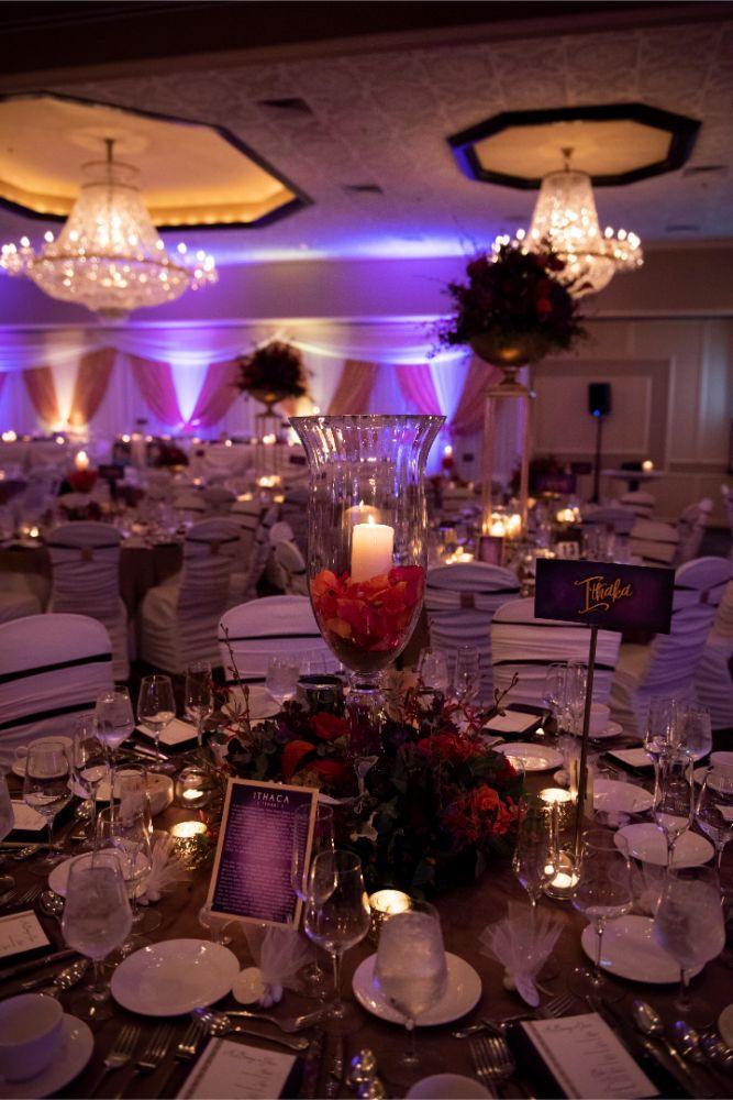 andrea matthew cotillion banquets reception tables