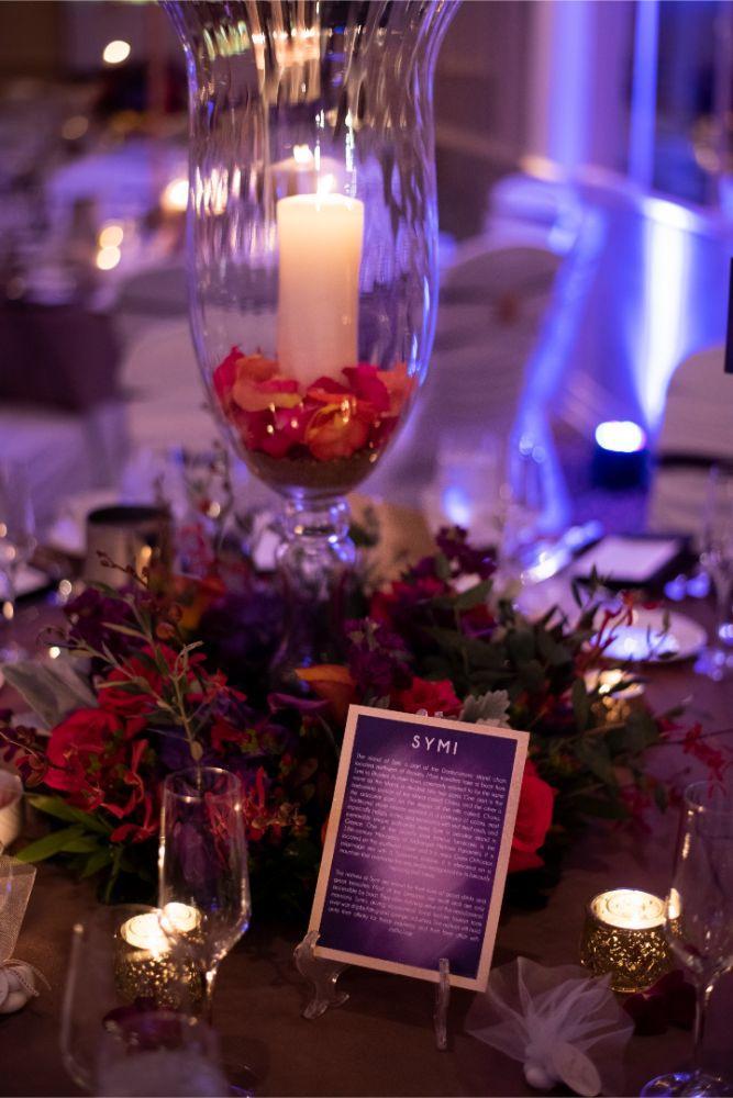 andrea matthew cotillion banquets table centerpieces