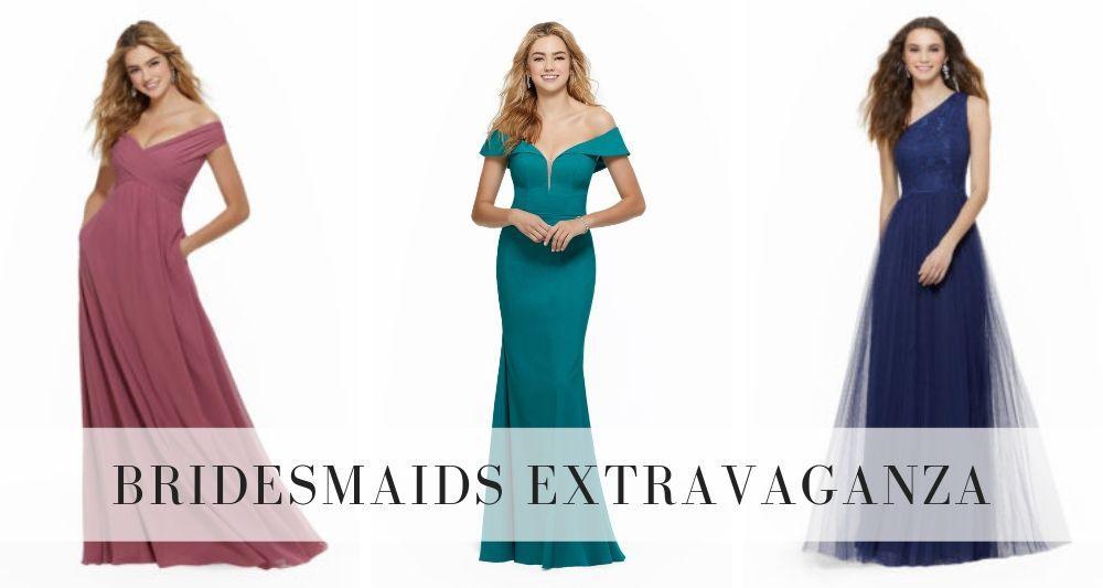 bridesmaids extravaganza sale eva's bridal international may 2019