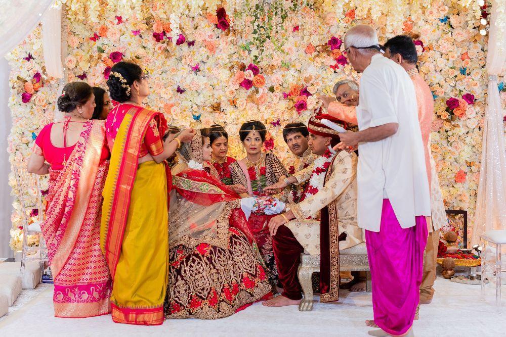 kajal akash pearl banquets & conference center hindu wedding ceremony