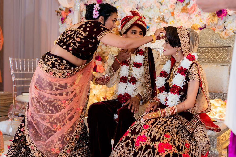 kajal akash pearl banquets & conference center wedding ceremony