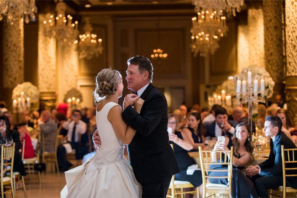 katrina drew the drake chicago wedding father daughter dance