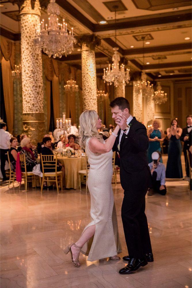 katrina drew the drake chicago wedding mother son dance