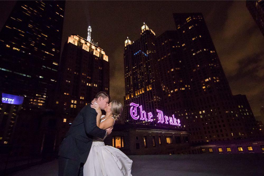 katrina drew the drake chicago wedding