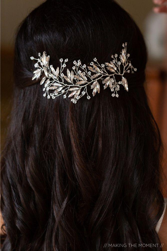 grace nicholas the hyatt lodge oak brook, IL bridal hair piece