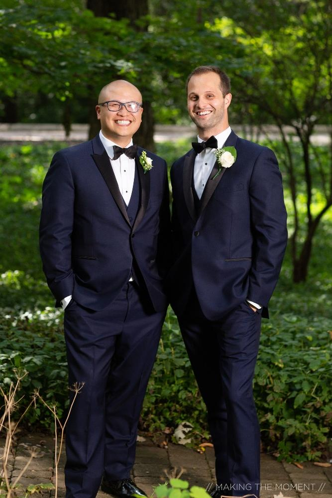 grace nicholas the hyatt lodge oak brook, il groom and groomsman