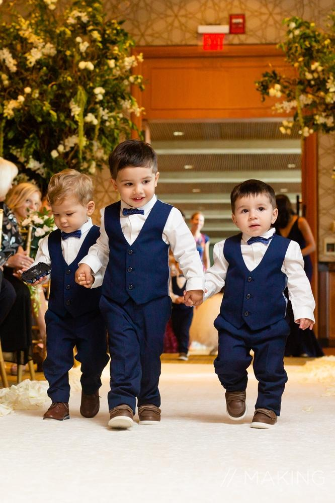 grace nicholas the hyatt lodge oak brook, IL ringbearers