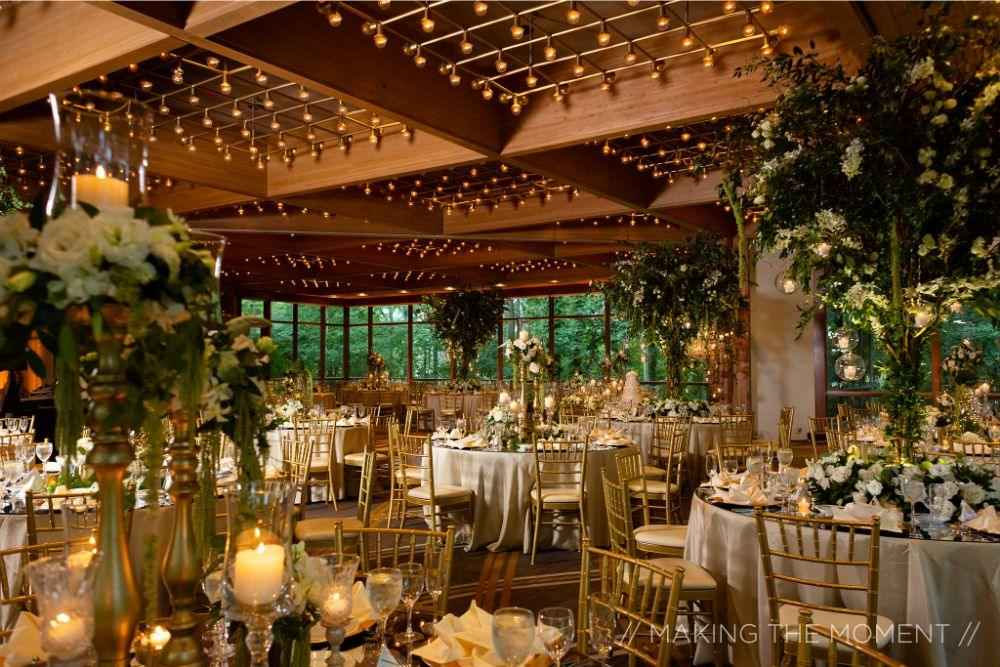 grace nicholas the hyatt lodge oak brook, IL wedding reception