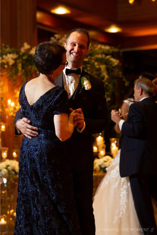 grace nicholas the hyatt lodge oak brook, IL mother son first dance