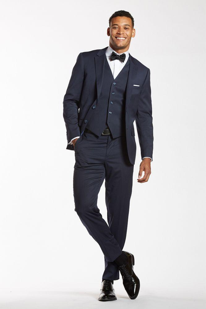 navy black suiting with shoes the groomsman suit