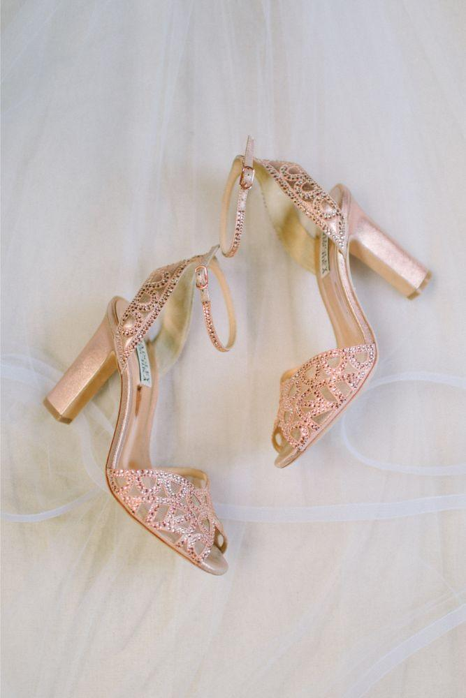 allie matthew the blackstone hotel chicago wedding bridal shoes