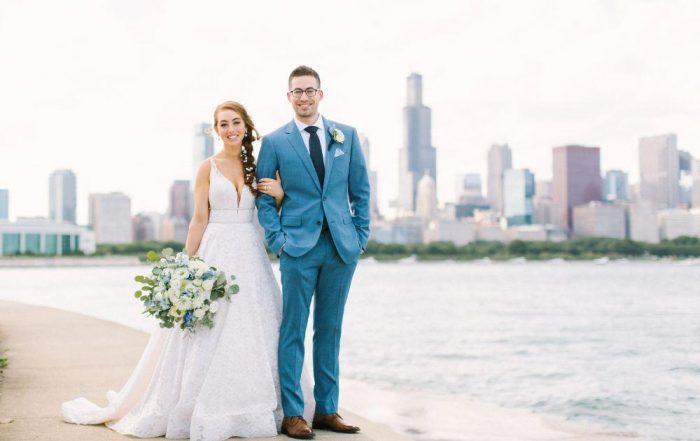 allie matthew the blackstone hotel chicago wedding