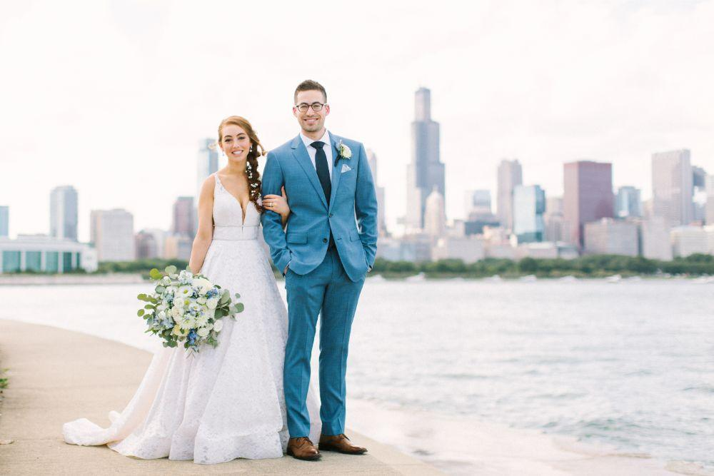 allie matthew the blackstone hotel chicago wedding