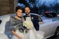 amanda joe the westin chicago northwest chicago wedding antique car