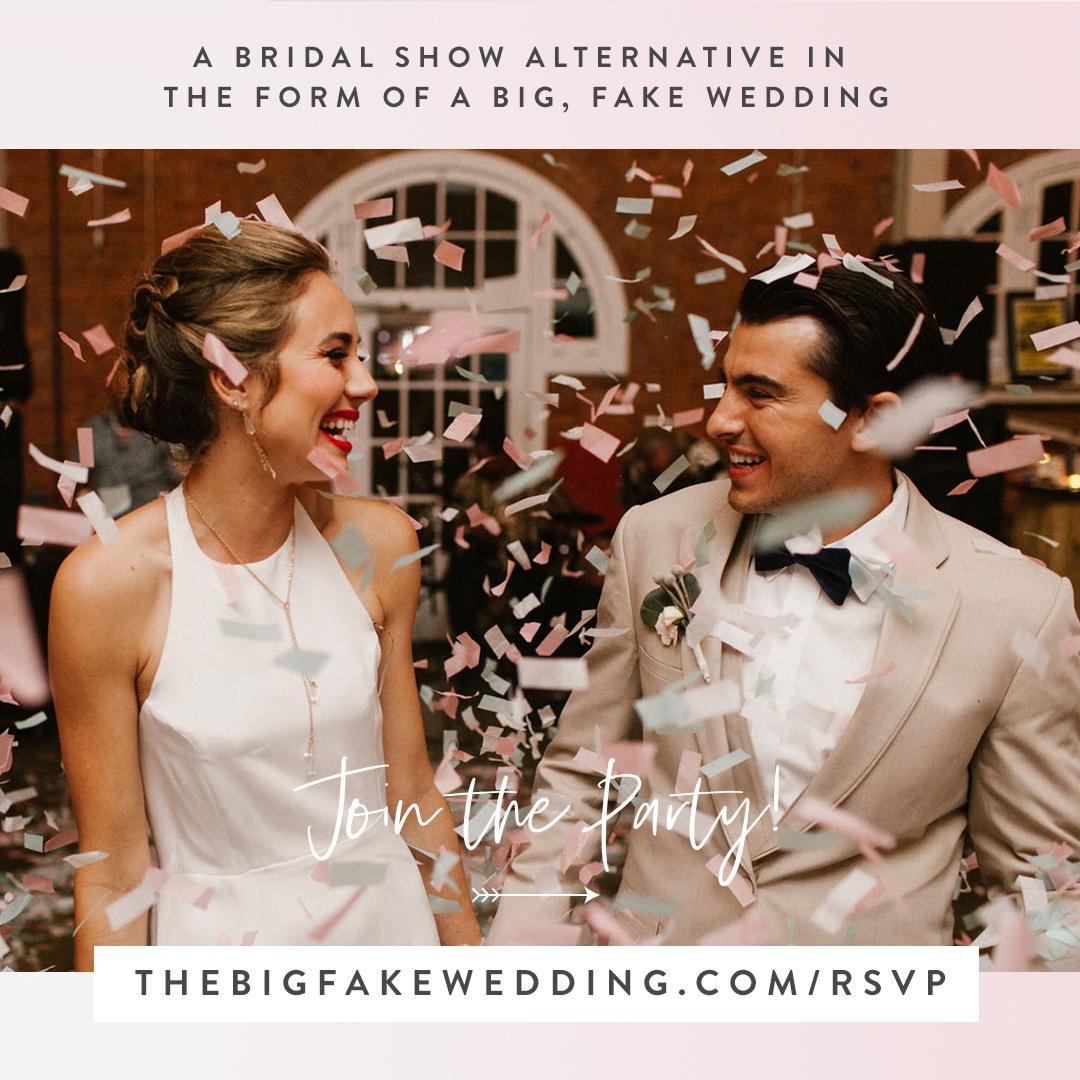 big fake wedding   wedding show   chicago weddings   chicago bride   chicago groom   chicago wedding party   company 251