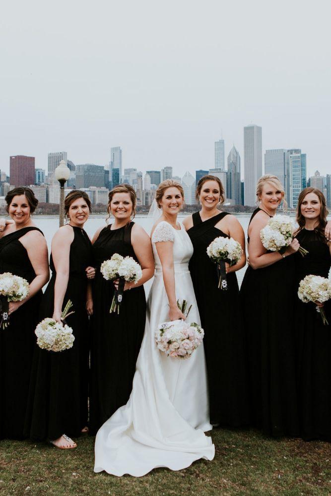 cassie ryan chicago wedding chicago marriott southwest at burr ridge bride and bridesmaids