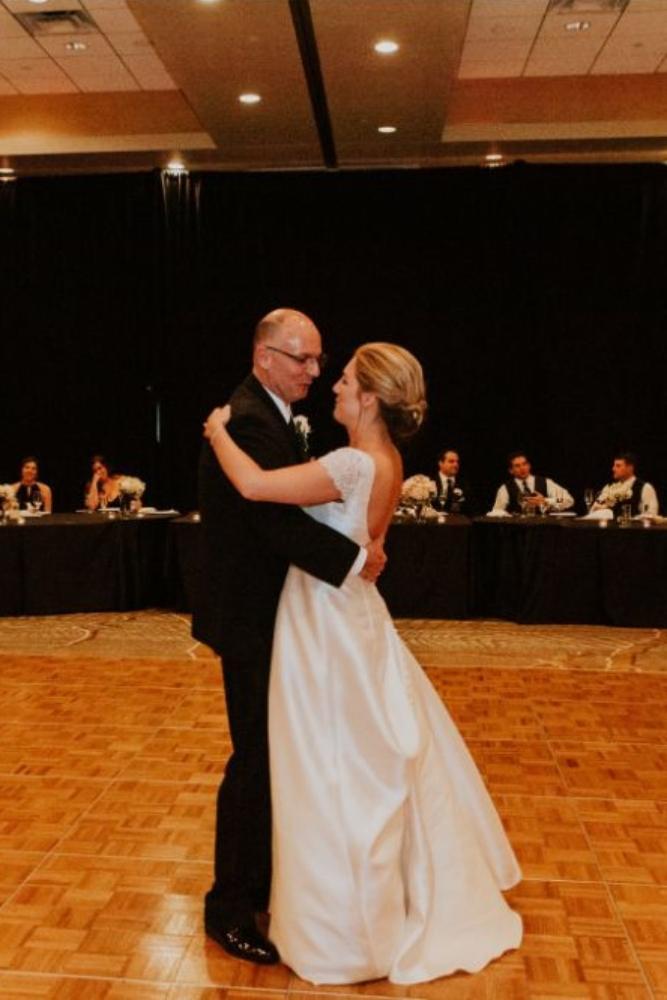 cassie ryan chicago wedding chicago marriott southwest at burr ridge father daughter dance