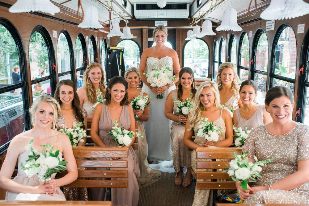 megan mike hotel indigo naperville riverwalk chicago wedding bridal party