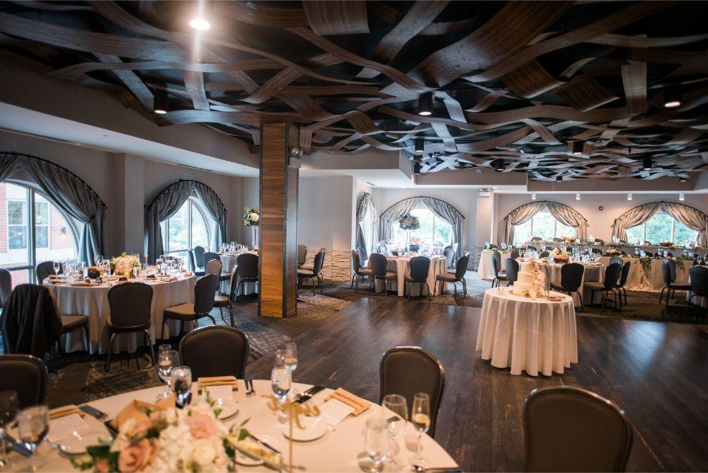 megan mike hotel indigo naperville riverwalk chicago wedding reception