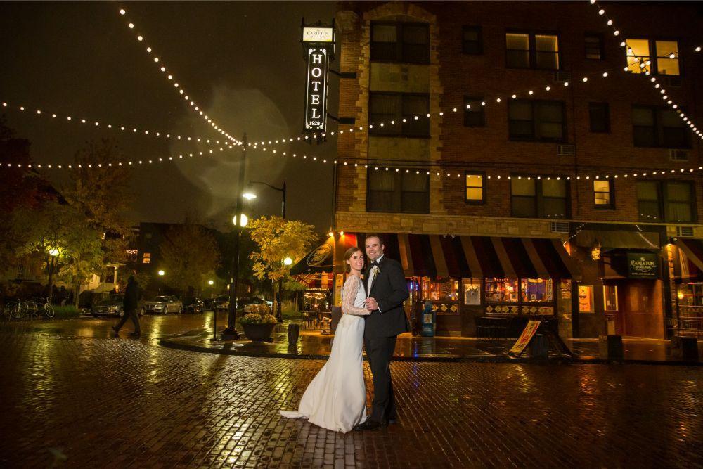 tessa jack the carleton of oak park chicago wedding