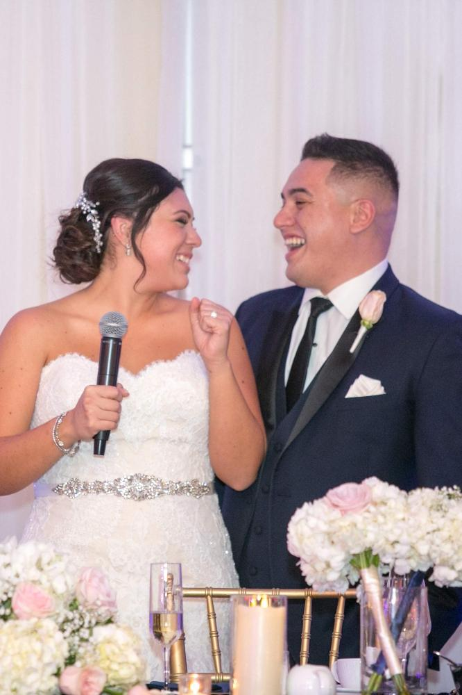 vanesa leonardo cotillion banquets chicagoland wedding toasts
