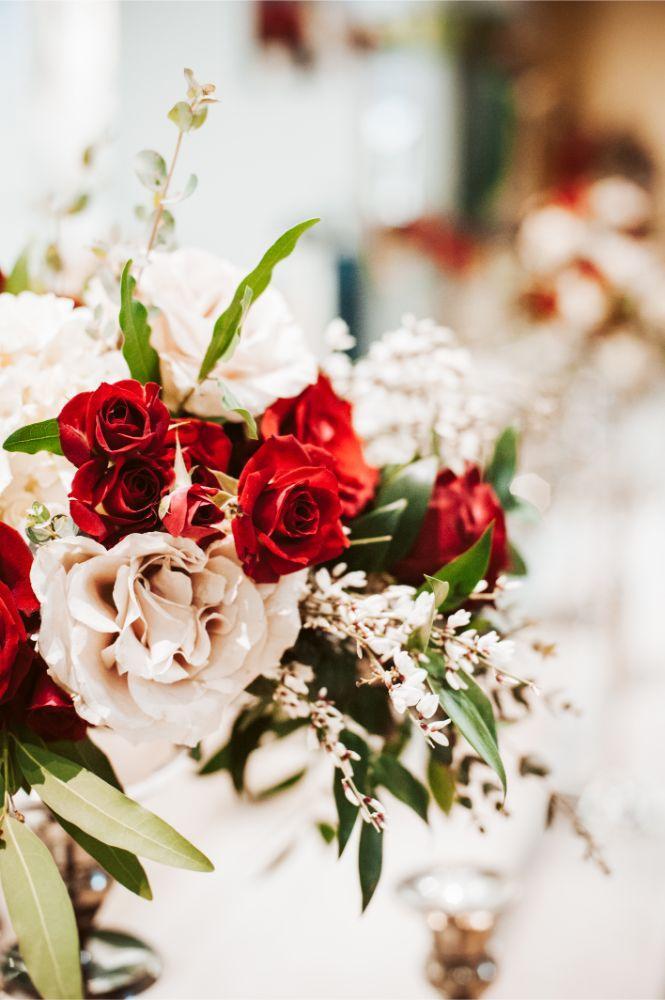 adrianna dean salvatore's chicago wedding flowers