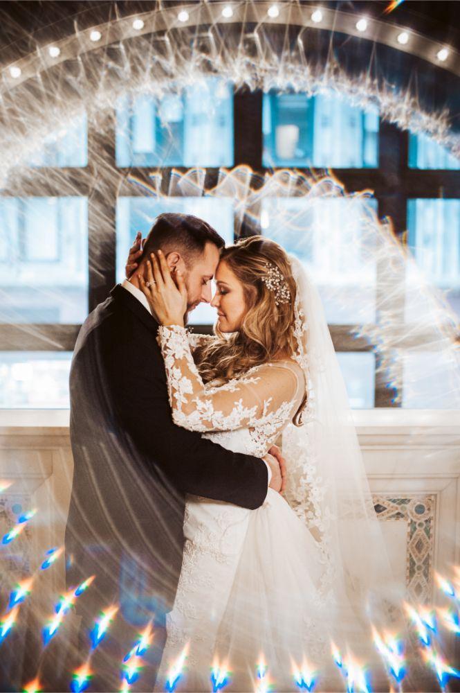 adrianna dean salvatore's chicago wedding bride groom wedding portraits