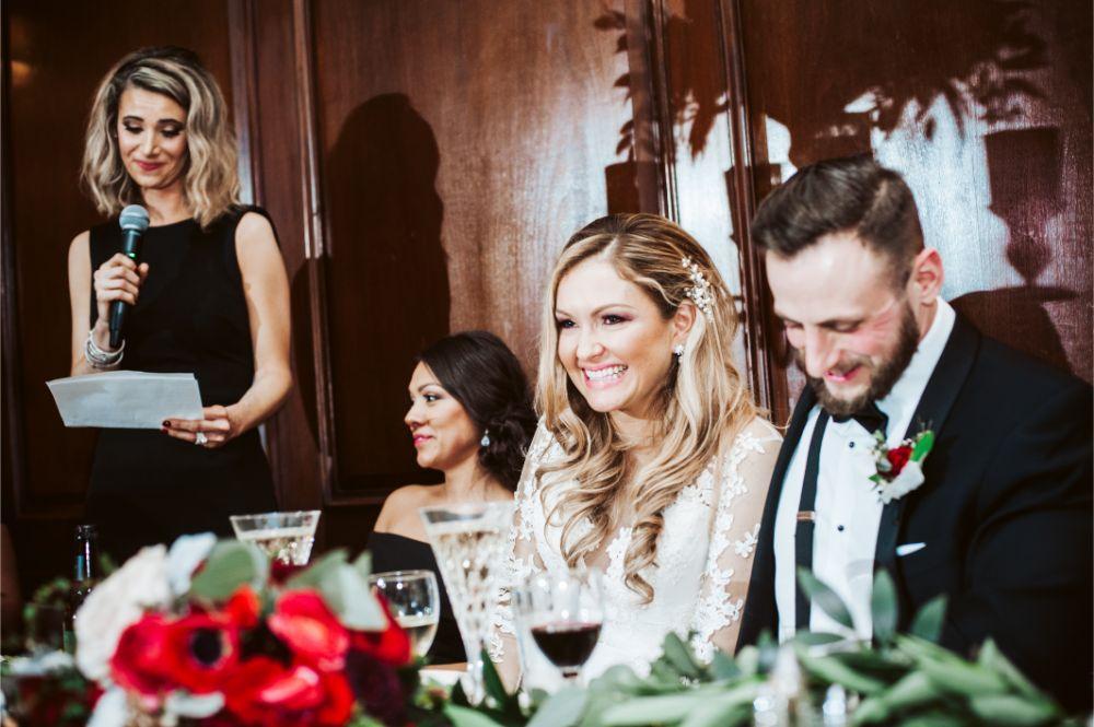 adrianna dean salvatore's chicago wedding toasts