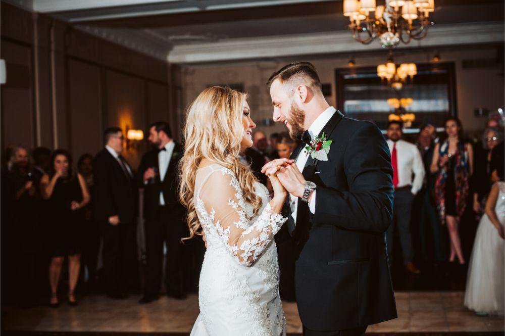 adrianna dean salvatore's chicago wedding first dance